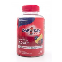 One-A-Day VitaCraves Adult Multivitamin Supplement 150 Gummies
