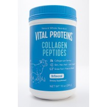 Vital Proteins Collagen Peptides Unflavored Dietary Supplement net wt 10 oz