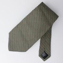 Boss by Hugo Boss Woven Silk Geometric Tie