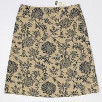 New Eddie Bauer Floral Print Skirt Women's 12