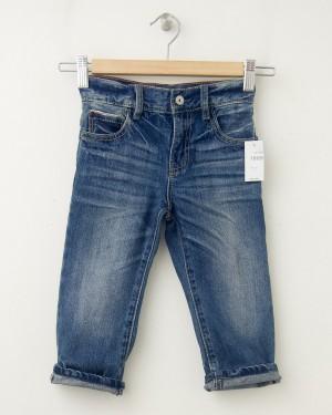NEW babyGap Toddler Boy 1969 Faux Selvedge Original Fit Jeans in Medium Indigo