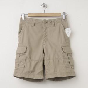 GapKids Boy's GapShield Uniform Cargo Shorts in Cargo Khaki