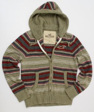 Hollister Hooded Sweater Men's L - Large